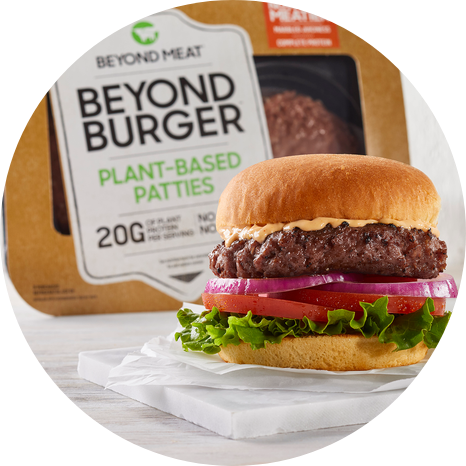 Beyond Meat Burger Patty Plant Based