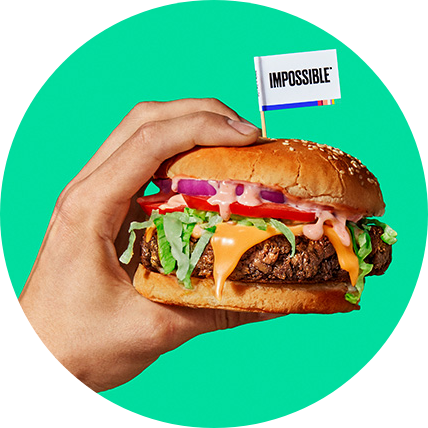 Impossible Burger Meatless Meat