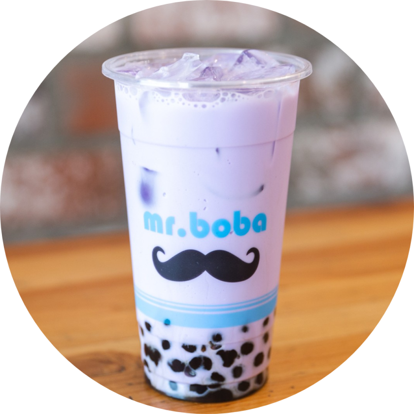 Mr Boba in Koreatown Los Angeles